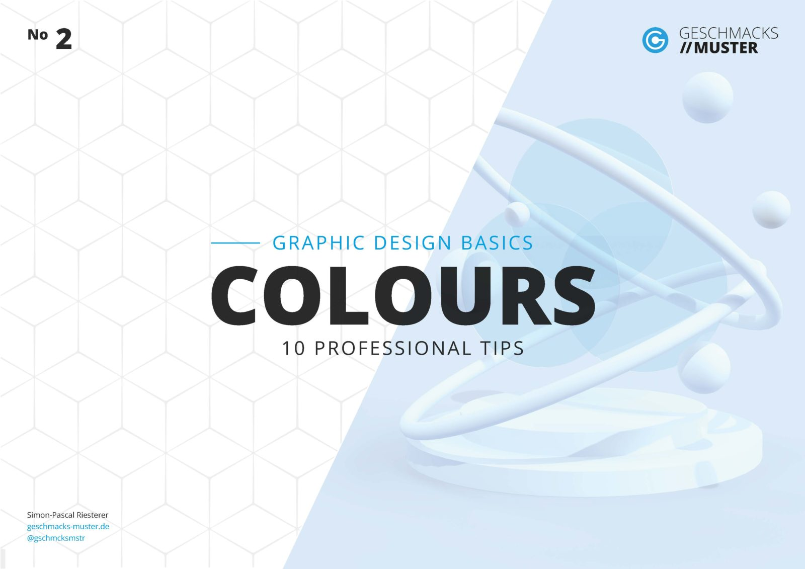 Cover Graphic Design Basic Colours
