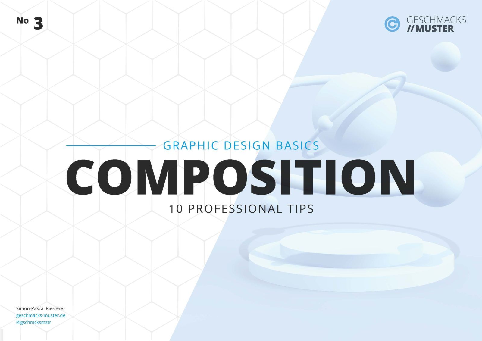 Cover Graphic Design Basic Composition