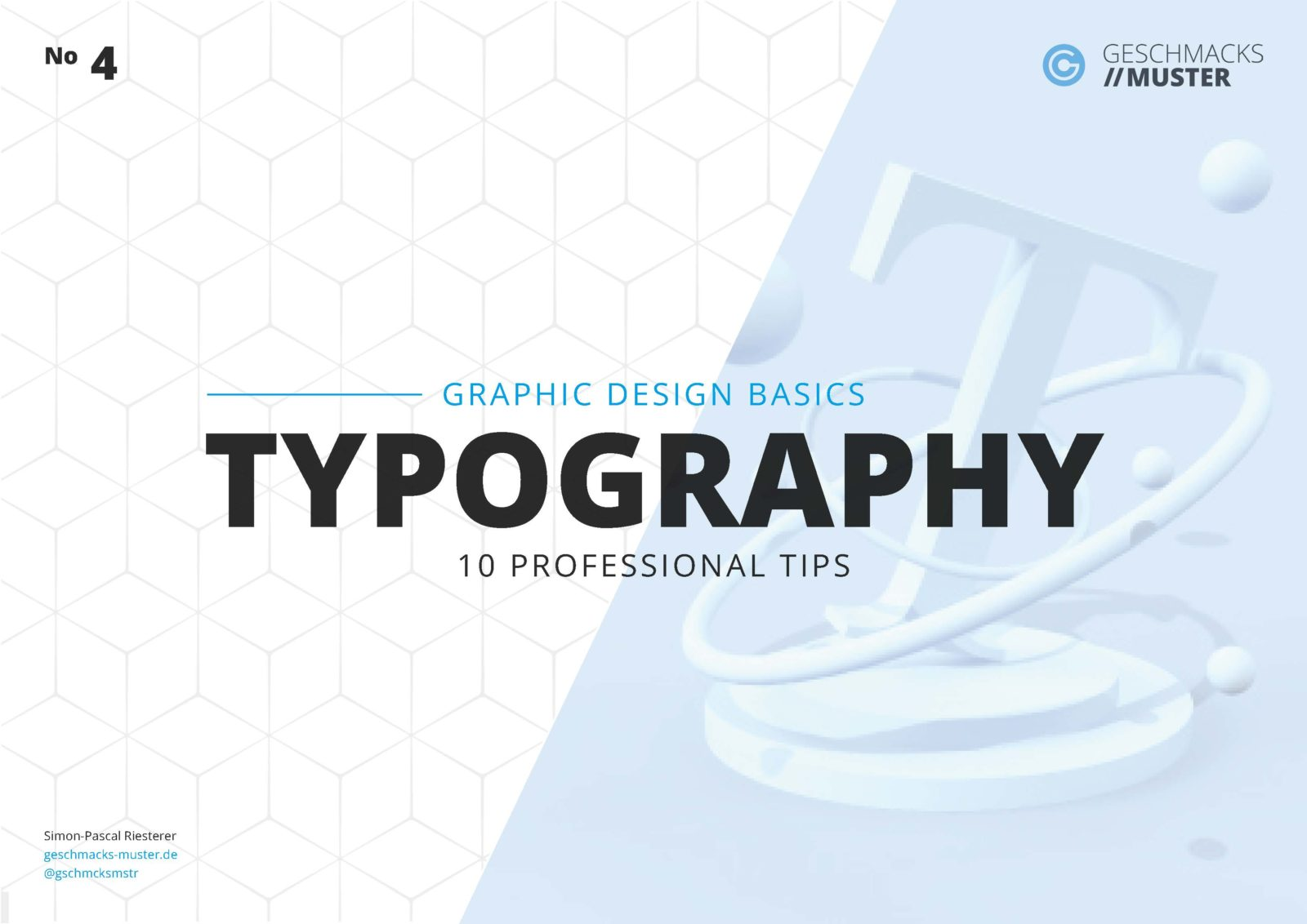 Cover Graphic Design Basic Typography