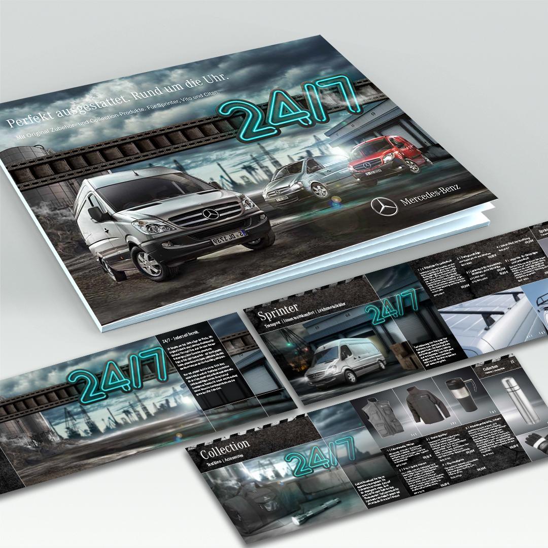 Referenz Mercedes-Benz Katalog